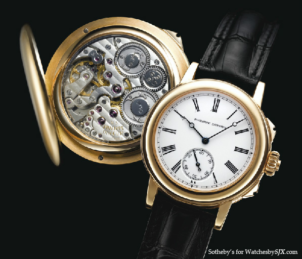 Watches by sjx strong results for philippe dufour sonneries at sotheby 39 s for Grande sonnerie