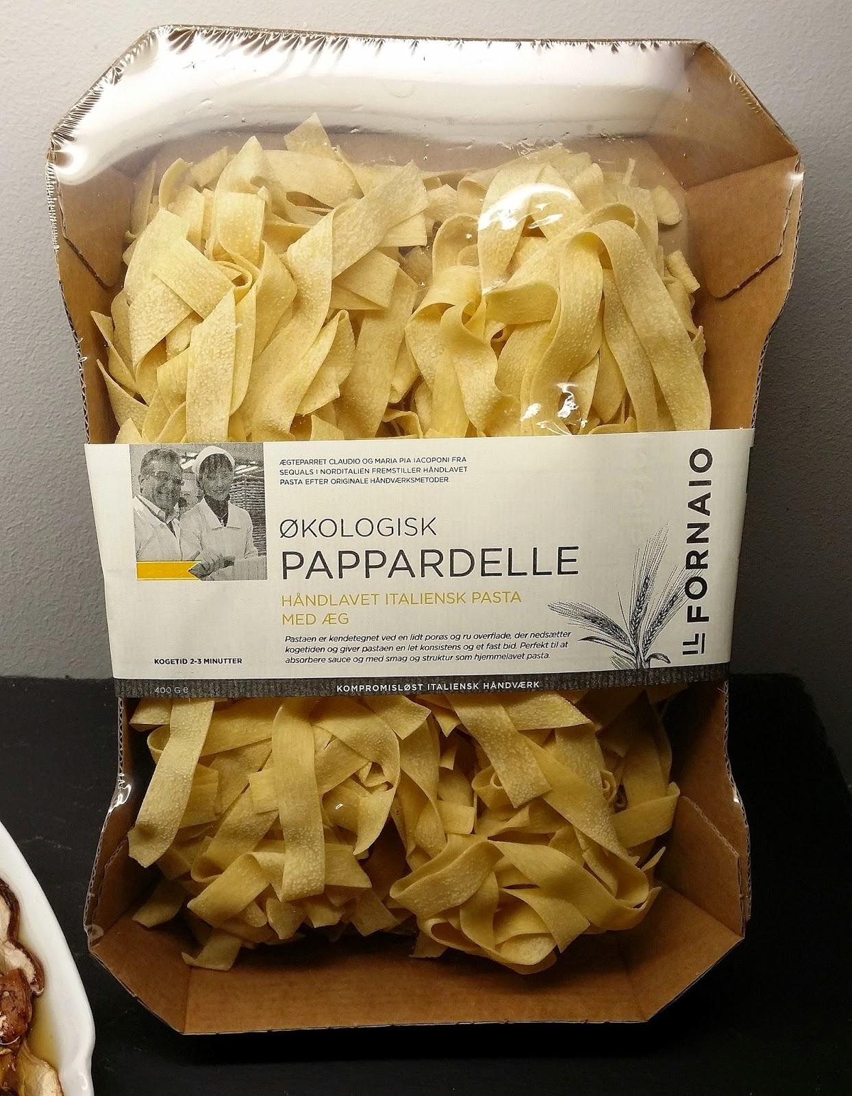 hjemme lavet pasta