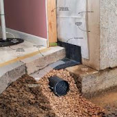 Perth County Basement Interior Weeping Tile Drainage System Installed Perth County