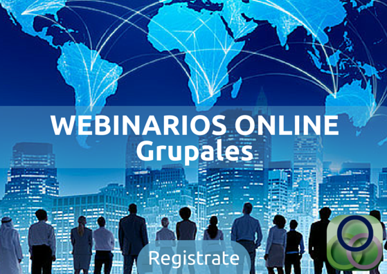 WEBINARIOS ONLINE GRUPALES