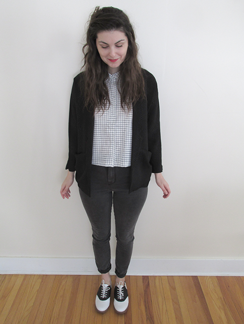 how to style a check print shirt blouse