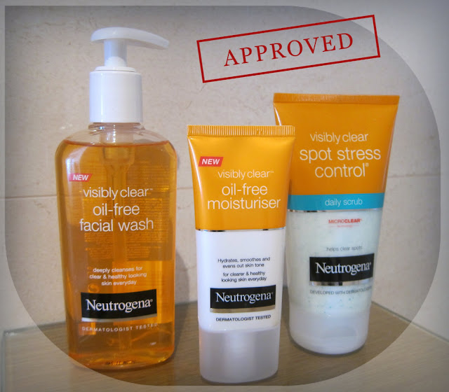 neutrogena skin care, visibly clear