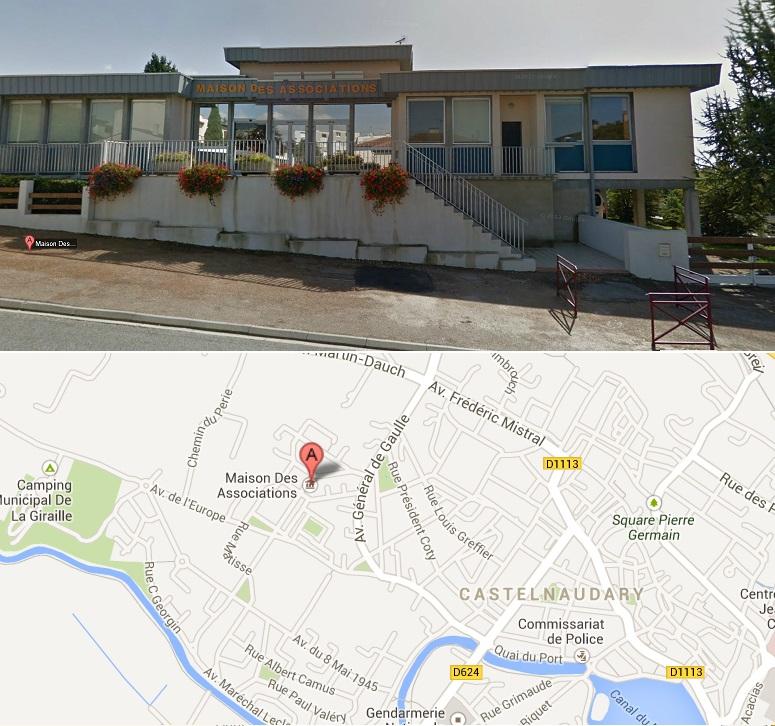 """Résultat de recherche d'images pour """"Maison des Associations de Castelnaudary."""""""