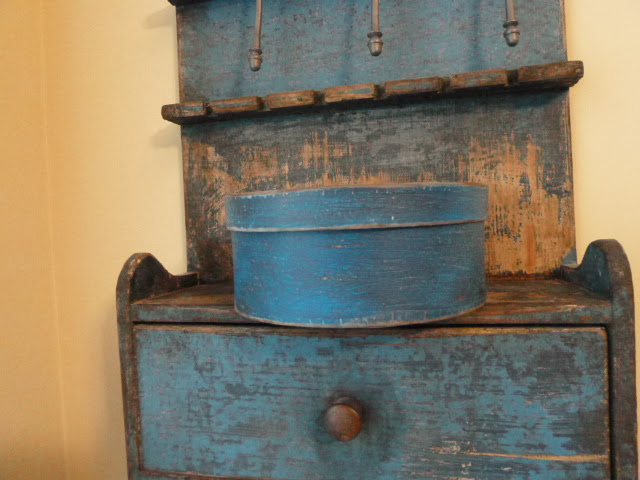 Blue Pantry Box