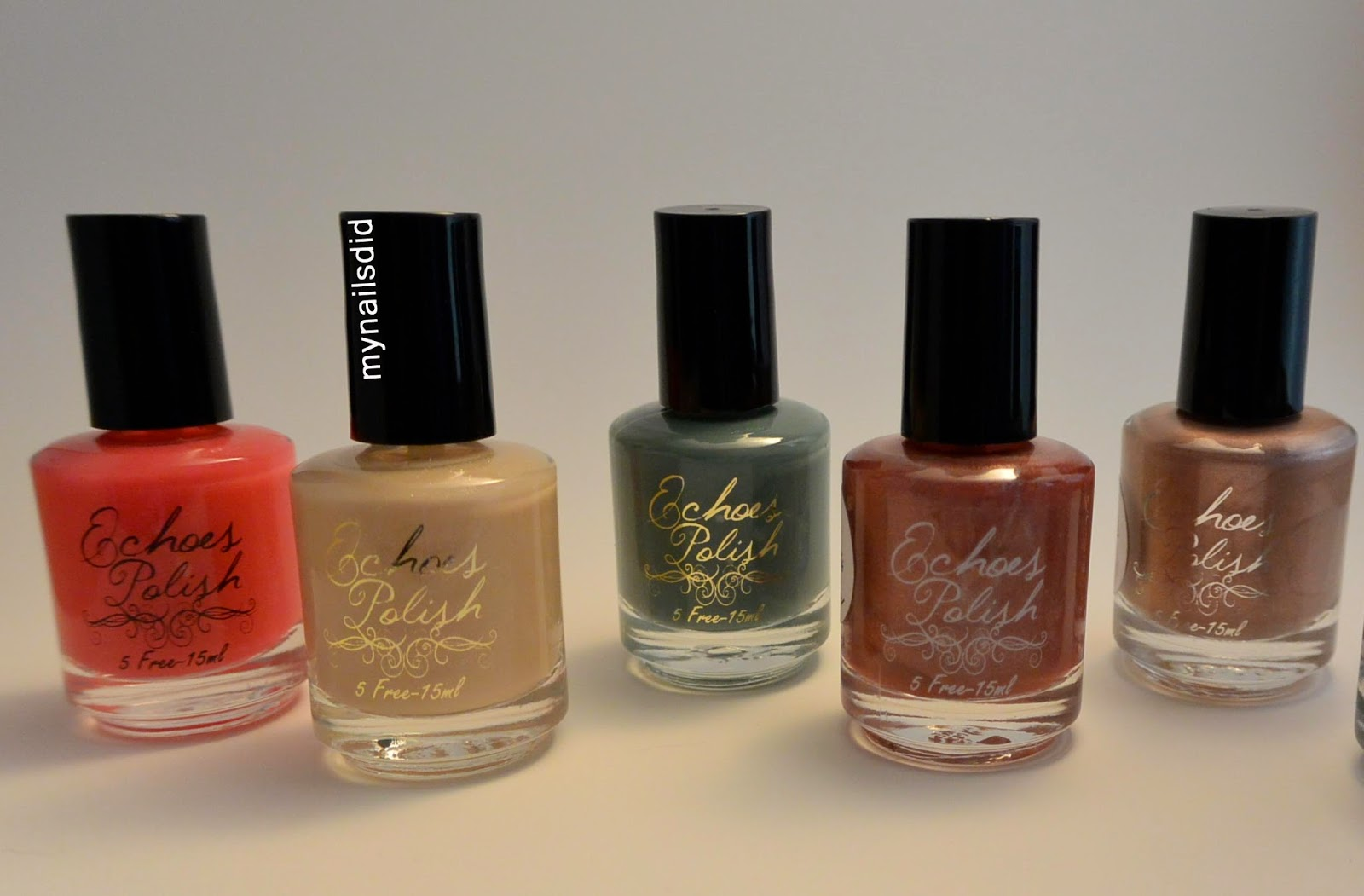 My Nails Did; Echoes Polish Indie Nail polish haul