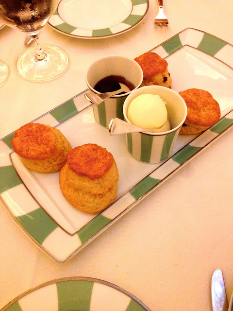 claridge's afternoon tea scones