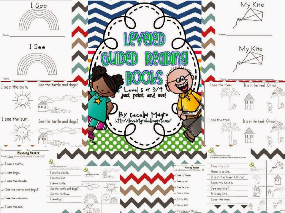 http://www.teacherspayteachers.com/Product/Printable-Guided-Reading-Books-DRA-Level-34-855993