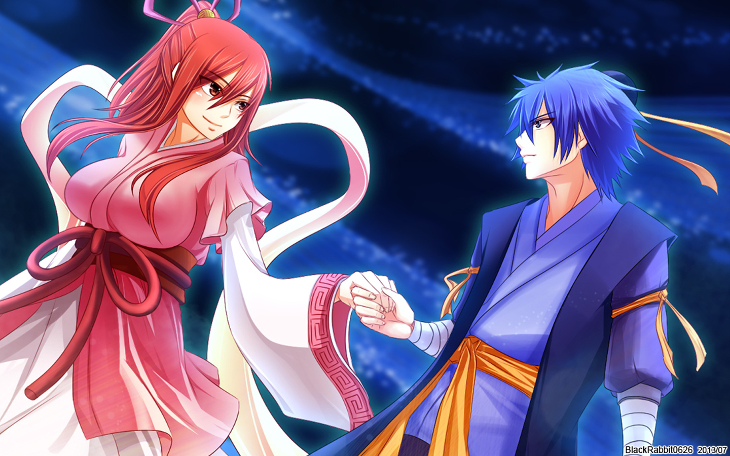Erza and Jellal Fairy Tail 4q Wallpaper HD