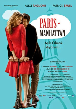 Paris Manhattan 2012 poster