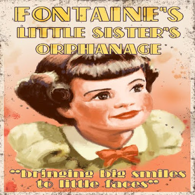 Fontaines Little Sisters Orphanage Bioshock posters