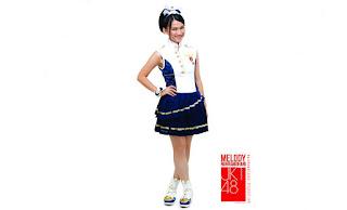 melody nurramdhani jkt48 cute by macemewallpaper.blogspot.com