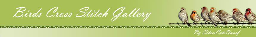 Birds Cross Stitch Gallery