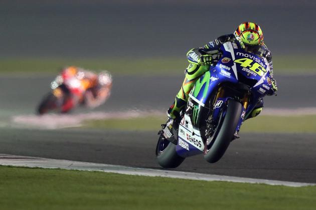 Valentino Rossi Juara MotoGP Qatar 2015 (Video)