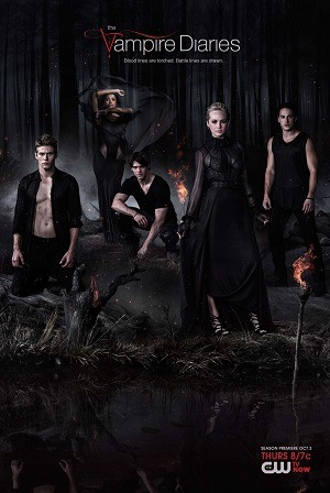 The Vampire Diaries - Diários de um Vampiro - 5ª Temporada Séries Torrent Download capa
