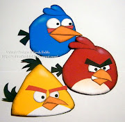Hi all I had a request to make some of the birds from the Angry bird game.