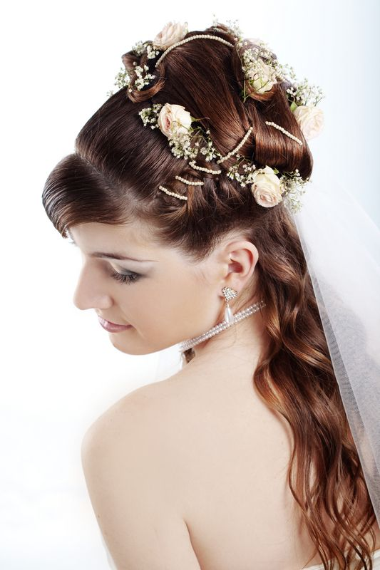 wedding hairstyles for hair half up 2012