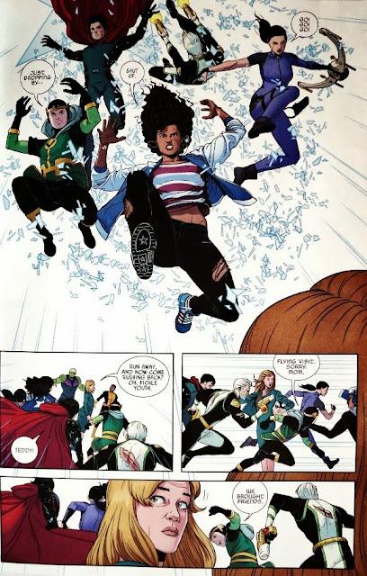 Young Avengers # 9 - Kieron Gillen Jamie McKelvie