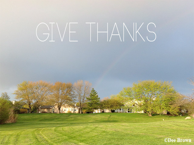 Give Thanks Wallpaper Beautiful