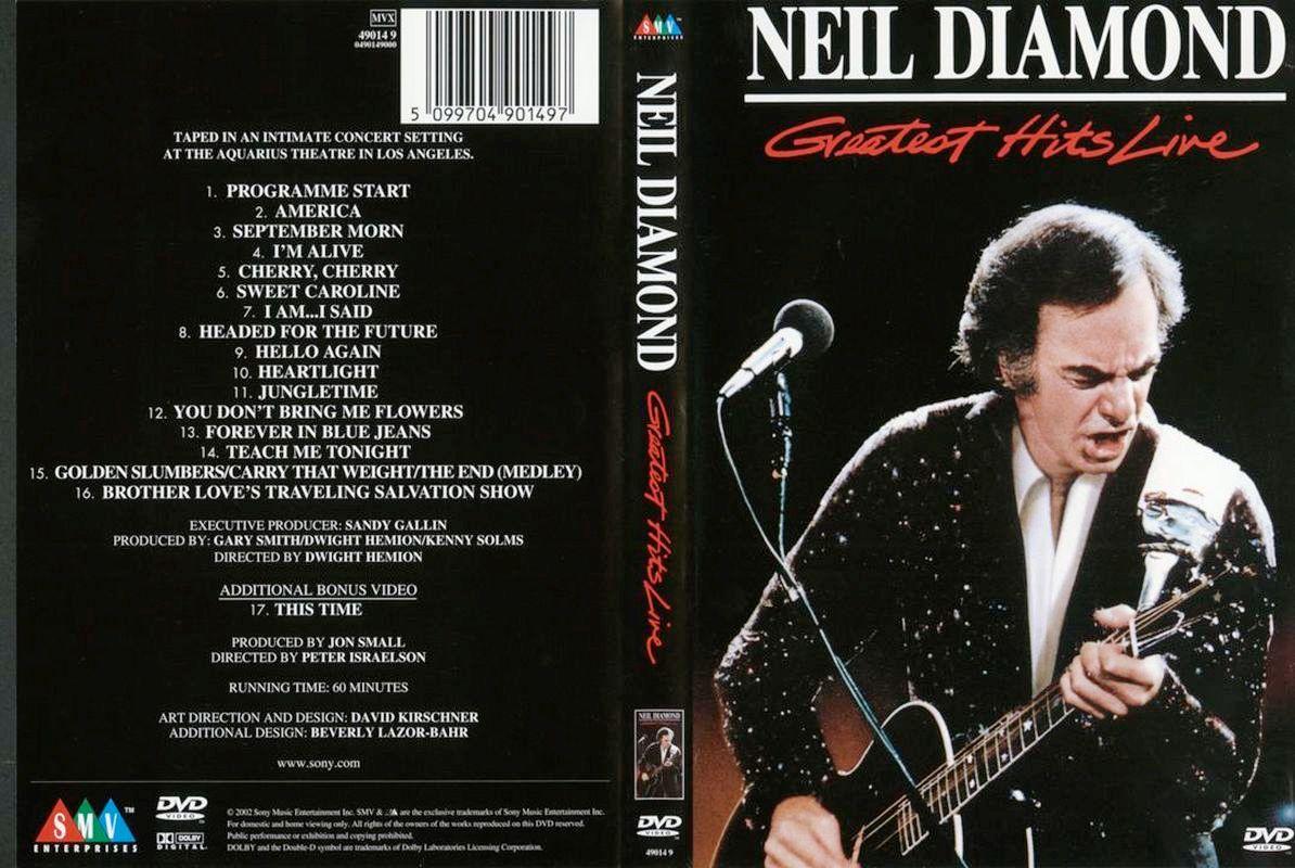 Neil diamond greatest hits live 1988 dvd