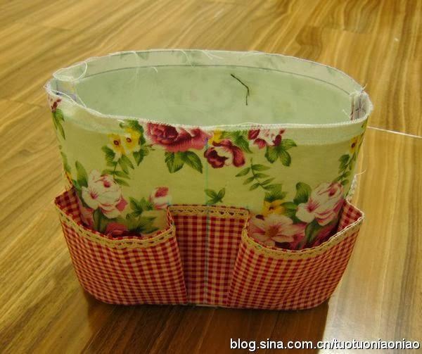 Летняя сумка с карманами | Summer bag with pockets