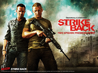 Strike Back Main Characters Damien and Michael HD Wallpaper