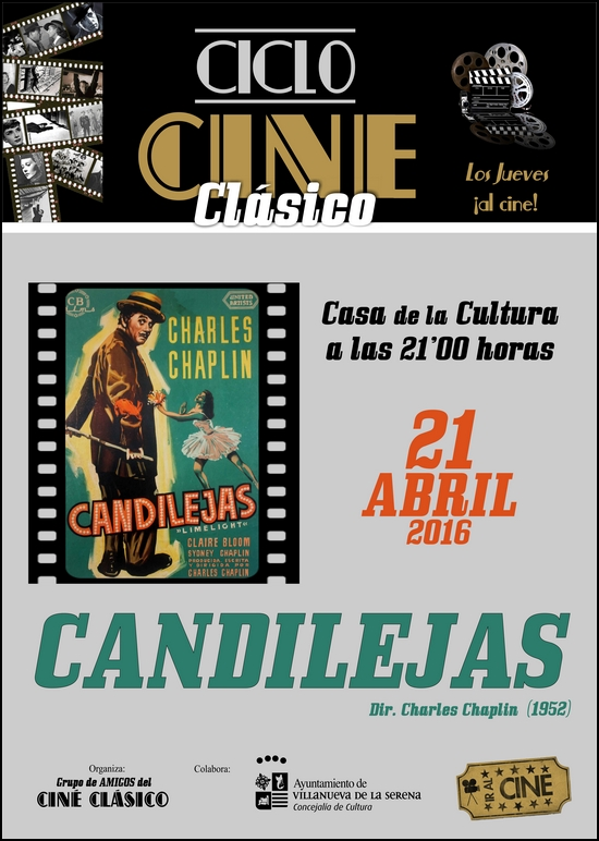 Cine clásico: Candilejas