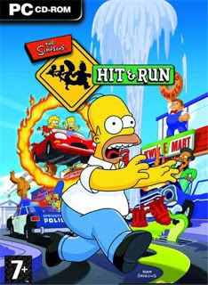 Game Pc Full Rip : The Simpsons Hit Run | Single - 179 Mb
