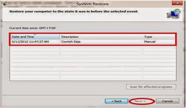 Cara Membuat System Restore Di Windows 8 yang Lengkap
