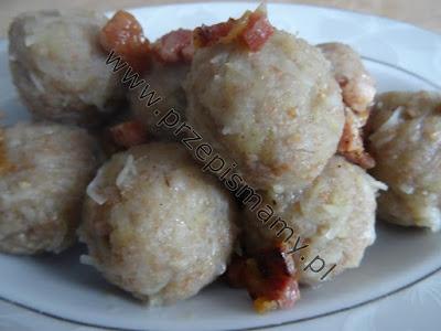 Kluski ziemniaczane z mąką razową