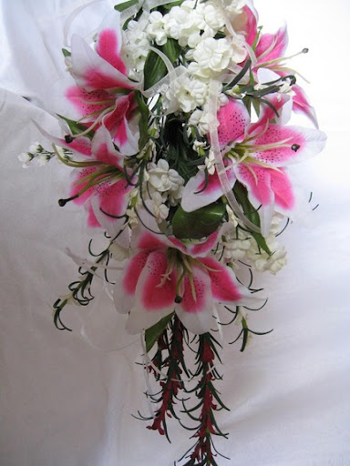 Lily Flower Arrangement, Wedding Flowers, wedding flower ideas, lily wedding flower, pink wedding flower, nice wedding flower, great wedding flower, white and pink wedding floer, wedding concept ideas, women wedding flower