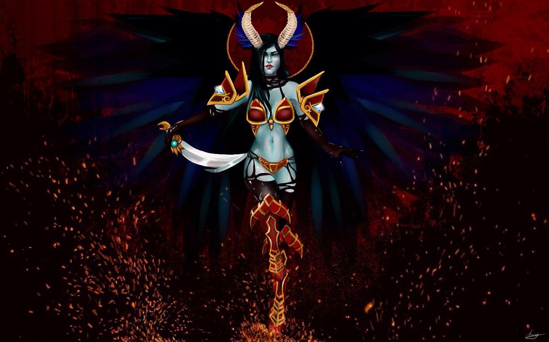 dota 2 game queen of pain akasha hero hd wallpaper 1440x900 original    Queen Of Pain Dota