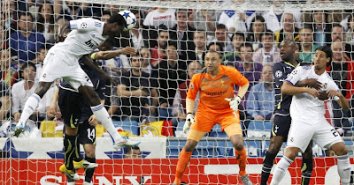 Adebayor made an incredible performance agaisnt Tottenham