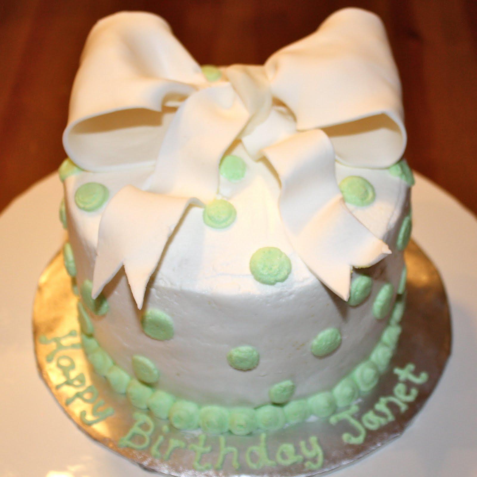 Kake Happy Birthday Janet