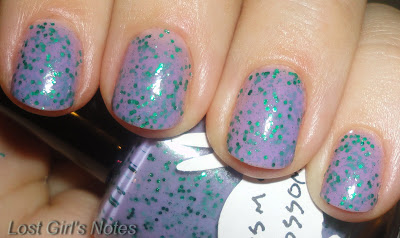 cosmo blossoms by hare polish swatch