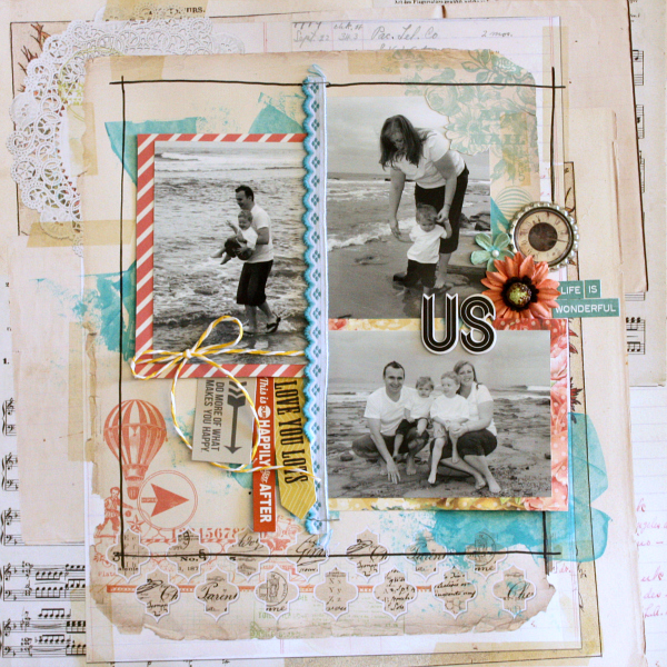 Life as we know it 5 scrapbooking layouts to share from inspired 5 scrapbooking layouts to share from inspired blueprints malvernweather Images