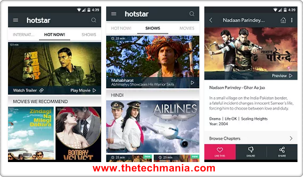 Hotstar App Free Download For Windows Xp 7 8 Pc And Mac ...