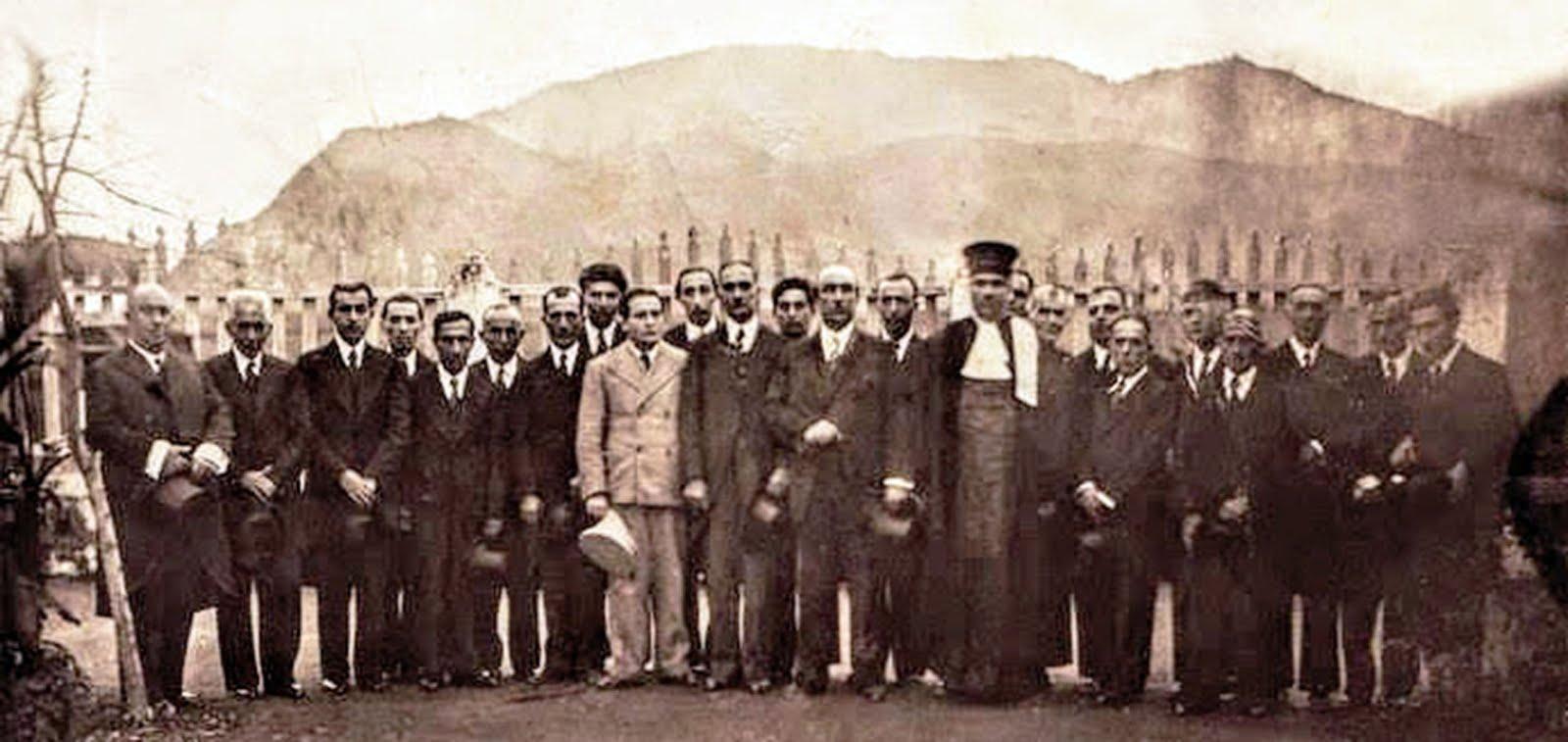 ورود رضاشاه به لاهیجان سال 1314