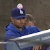 Which Dodger player placed gum on Ted Lilly's hat? (Video)