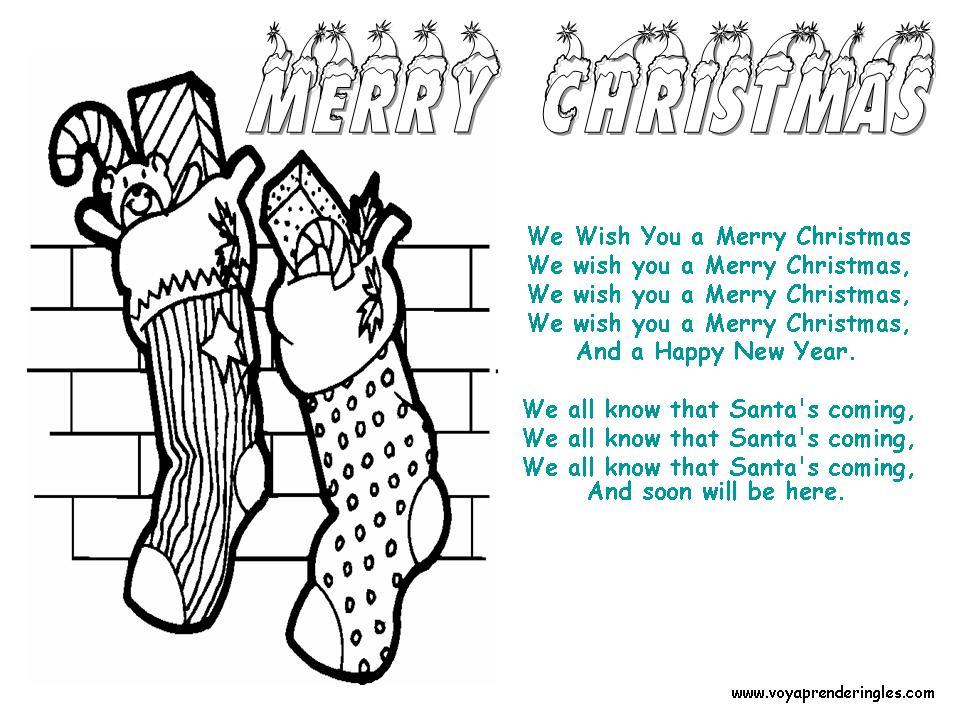 letra de la cancion so this is christmas: