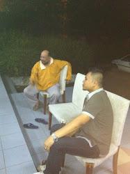 En Razif KESUMA-i dan En Hamzah YSP variasi Singapura melihat SENAM SENI MALAYSIA