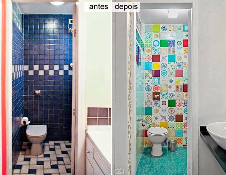 decoracao banheiro diy:Postado por Jessica Santin Cremer às 12:09 PM