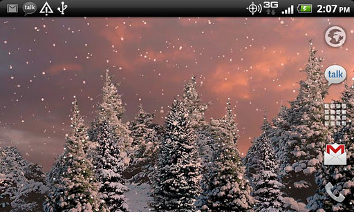 Snowfall Live Wallpaper apk - Beautiful live snow  wallpaper