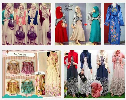 Model Baju Muslim Trend Masa Kini 2015 Untuk Remaja