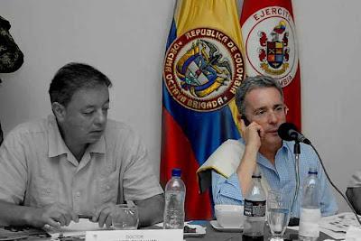 Alvaro Uribe y Silva luján | Copolitica