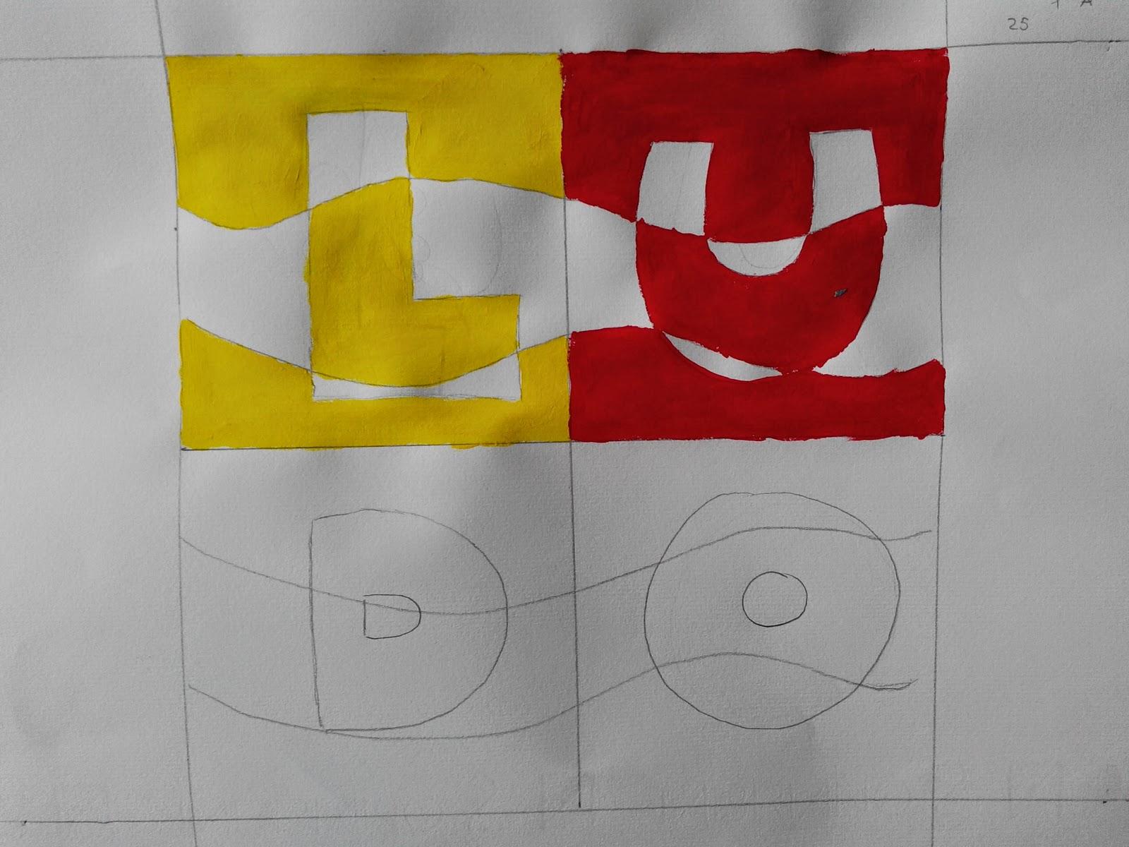 Arte in classe colori complementari alternati bianco e nero - Pagine a colori in bianco e nero ...