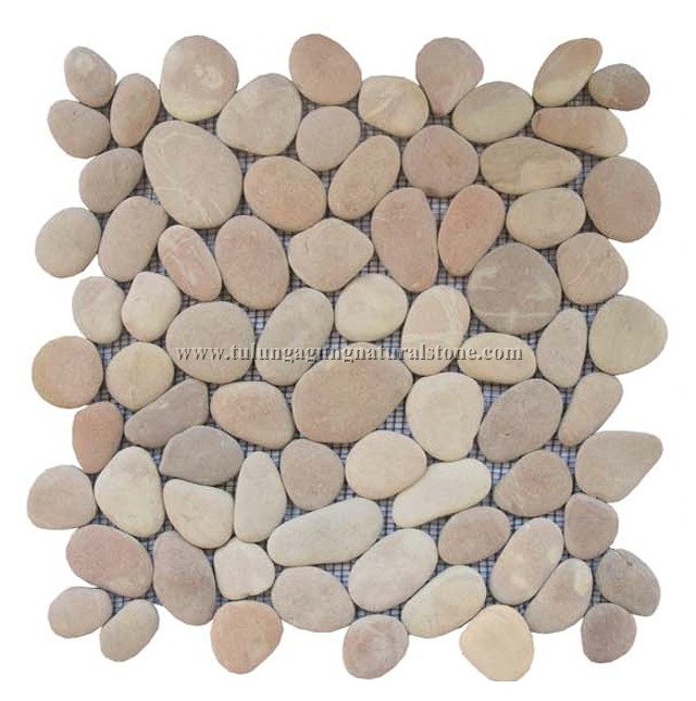 Mosaic pebble mosaik kiesel mosa que galet pebble - Decorar piedras de rio ...