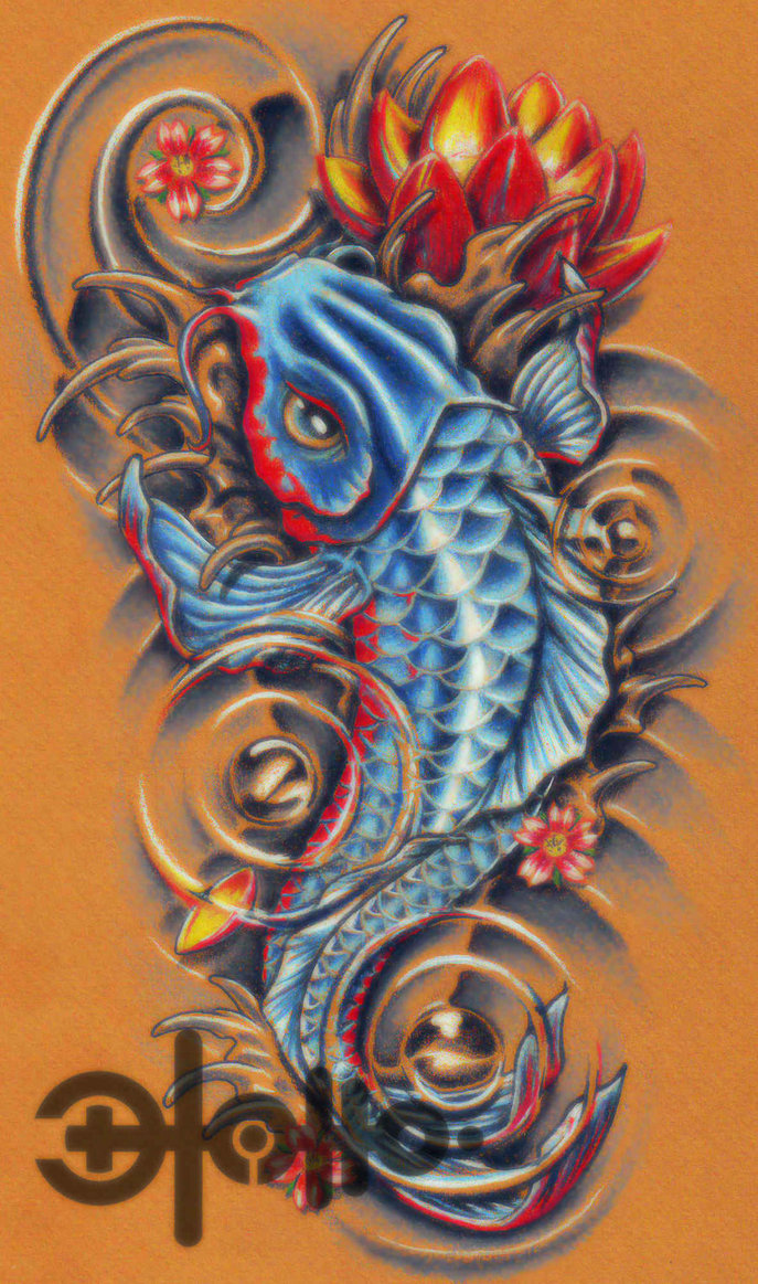 tatto koi fish tattoo. Black Bedroom Furniture Sets. Home Design Ideas