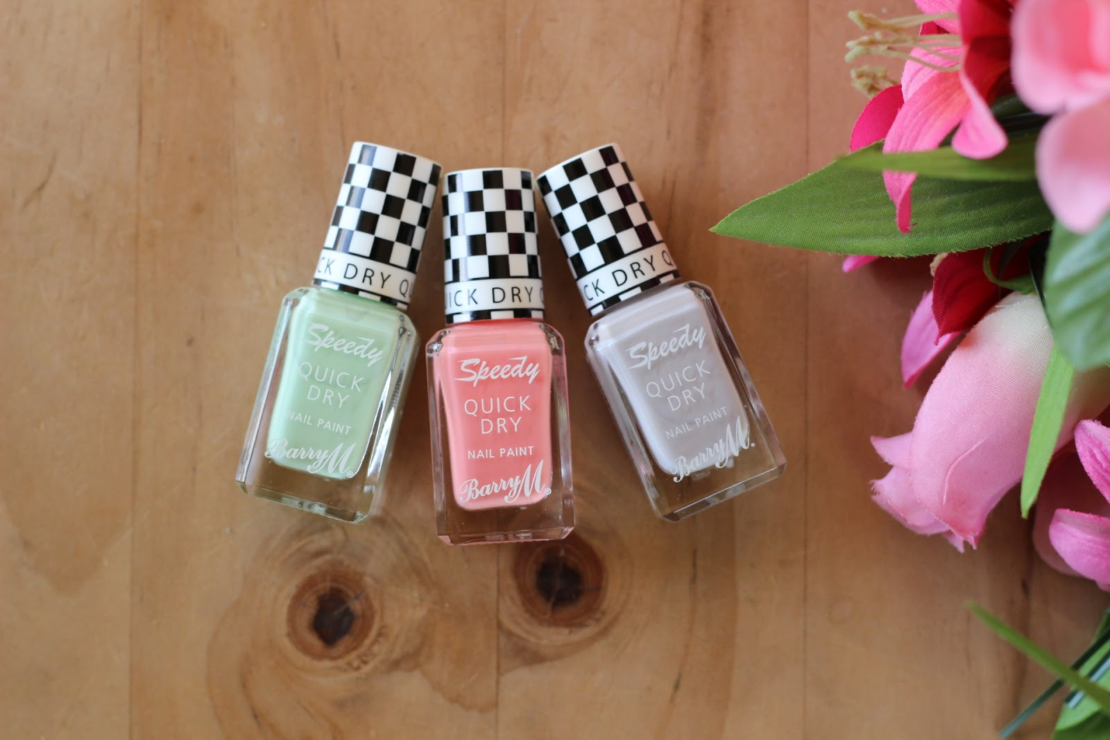 Barry M Speedy Dry Polishes