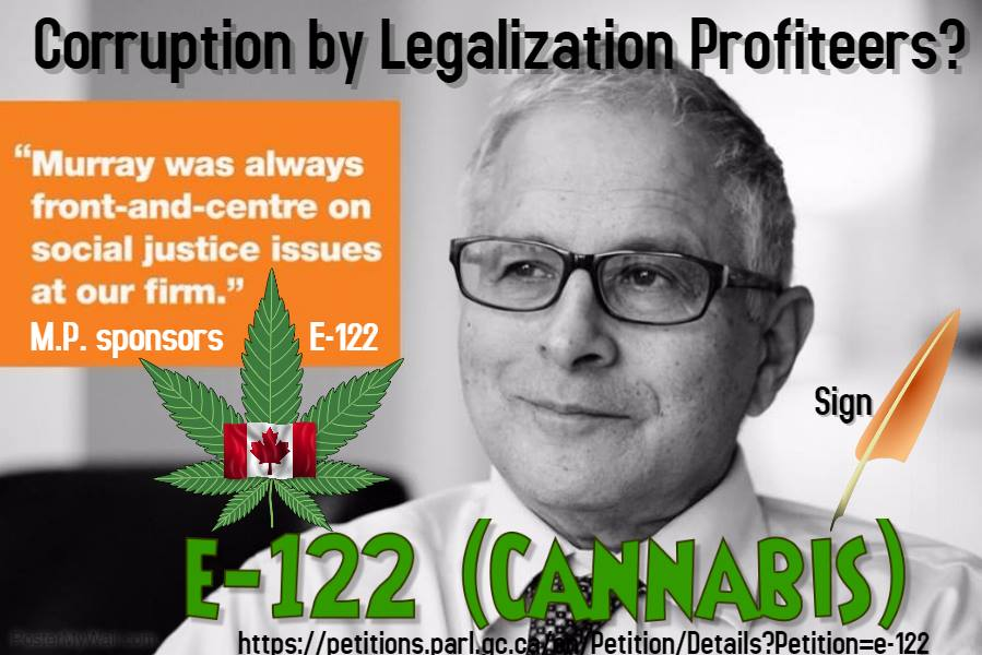 E-122 Cannabis Petition - Royal Commission on Cannabis