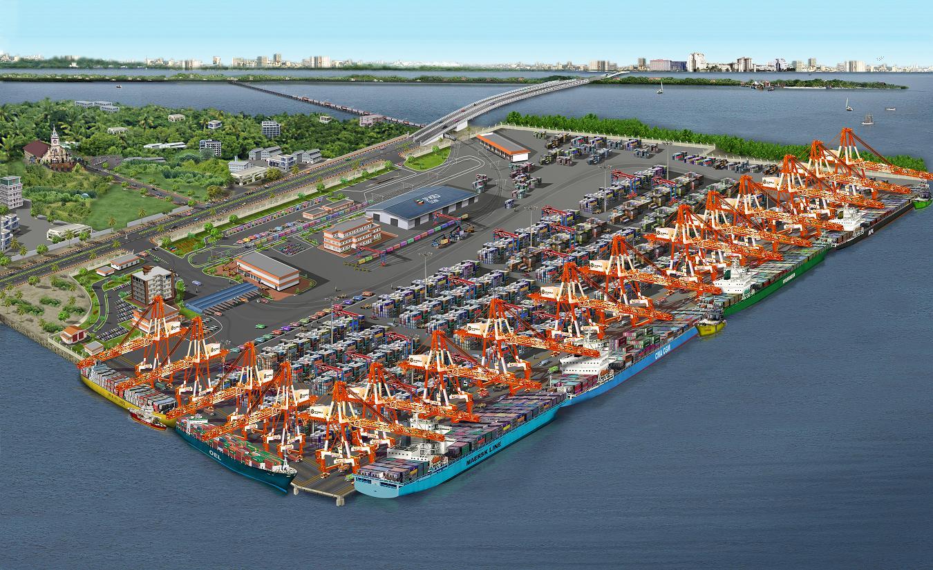 Asha 39 s maritime news new developments at ictt vallarpadam cabotage relaxation notification - Chambr kochi ...